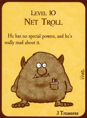 john kovalic troll card